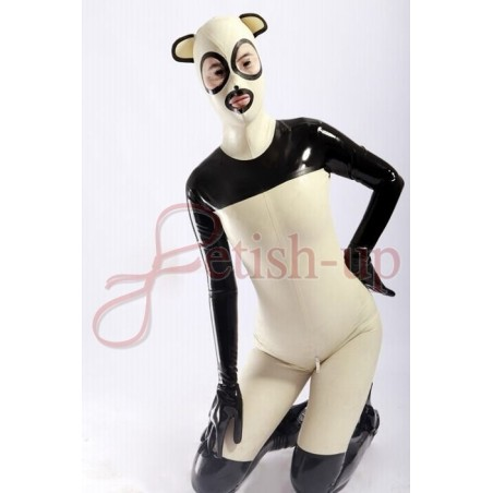 Catsuit catwoman latex